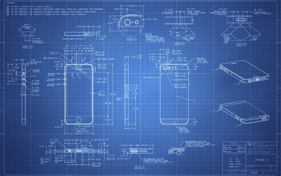 iOS iphone schematics
